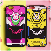 [Overwatch] D.VA Bunny iPhone Phone Cases (pink and yellow) HF00805