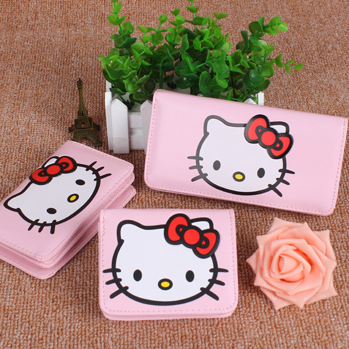 d8a119debcef Hello Kitty  Cute Cartoon Small Pink Purse Ver. 1 HF00721