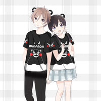 [Kumamon] Cute Cartoon T-shirts (various versions) HF00751