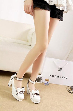 Japanese Style Lolita Student High-Heels (various colors) HF00567