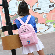 "Korean Style ""You can be anything"" Backpack Bag (various colors) HF00897"