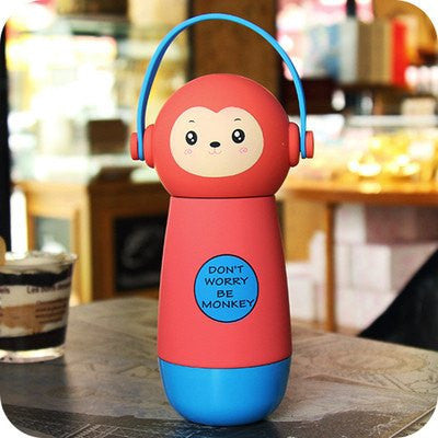 """Don't Worry Be Monkey"" Drink Bottles (various colors) HF00677"