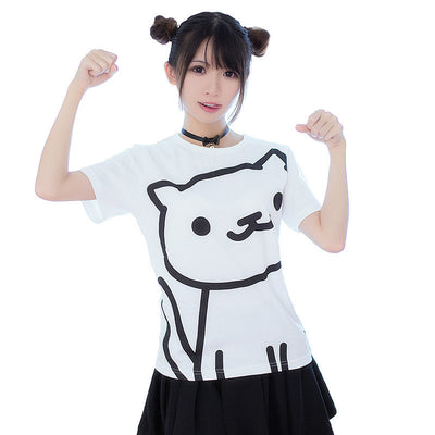 [Neko Atsume] Cartoon T-shirts (various styles) HF00090