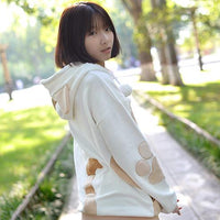 Kawaii House Kitty Brown Hoodie HF00221