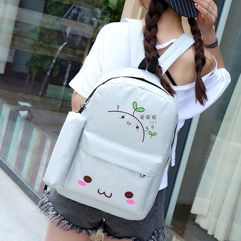 [Zhang Cao] College Backpack Bags (various colors) HF00421