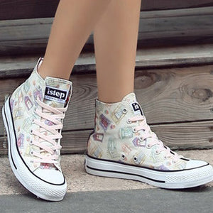 Paris Prints Canvas Shoes Ver.3 HF00356