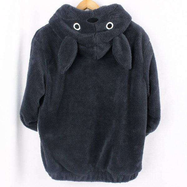 [Totoro] Cartoon Thick Winter Hooded Sweater HF00829