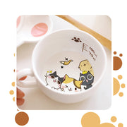 [Neko Atsume] Cute Ceramic Tea Cups (various styles) HF00753