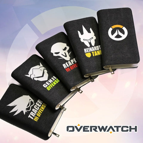 [Overwatch] Long Canvas Wallets (various characters) HF00807
