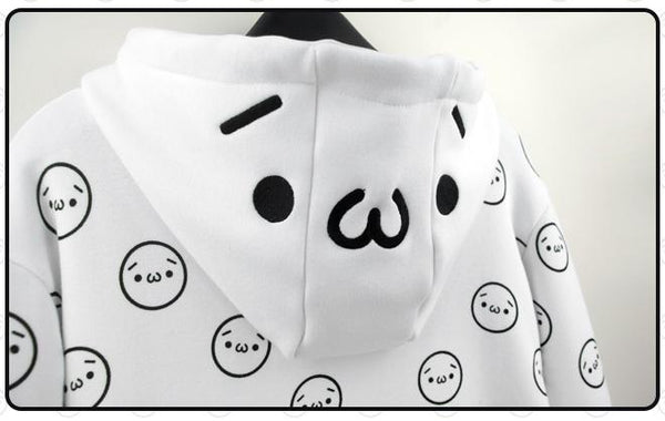 Funny Emoticons Hoodie HF00305