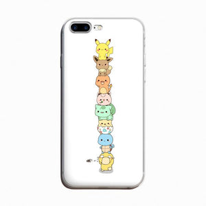[Pokemon] Stacked Characters iPhone Phone Case HF00165