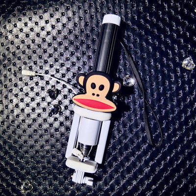 Cute Remote Selfie Sticks (various characters) HF00681