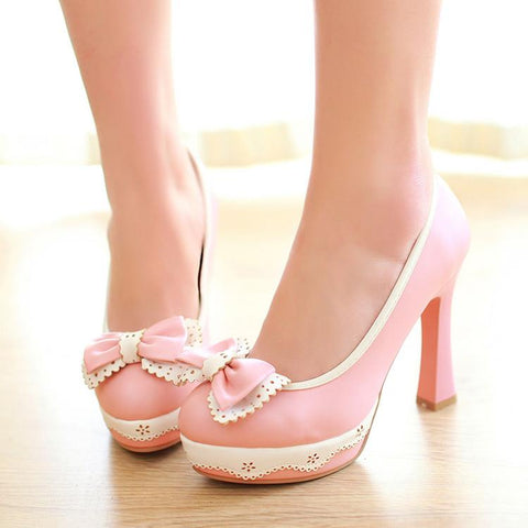 Japanese Style Lolita Princess High-Heels (various colors) HF00565