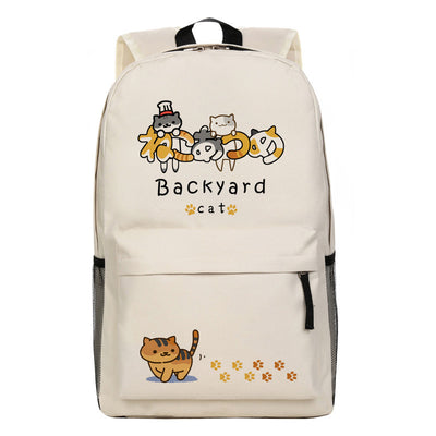 [Neko Atsume] Cute Kitty Cat Cartoon Backpack Bag Ver. 2 HF00211