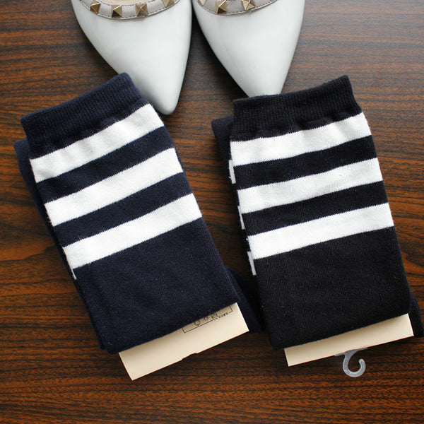 Japanese College Striped Stockings (various colors) HF00914