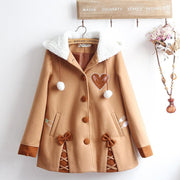Sweet Rabbit Japanese Style Winter Coat HF00026