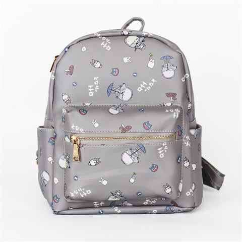 [Totoro] Cute School Backpack Bag HF00629