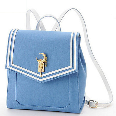 [Sailor Moon] College Girl Backpack (blue and black) HF00432