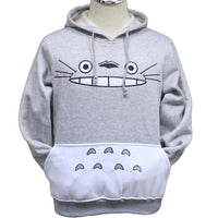[Totoro] Thick Hedged Hoodie Sweater HF00111
