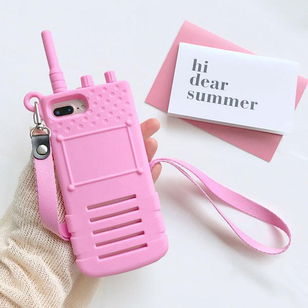 Walkie Talkie iPhone Phone Case HF00535