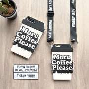More Coffee Please iPhone Phone Case HF00075