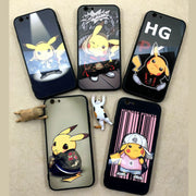 [Pokemon] Cool Pikachu Black iPhone Phone Case (various styles) HF00731
