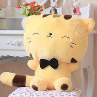 Cute Happy Cat Plush Toys (yellow and white) HF00137
