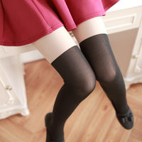 Heart Lolita Tights (black and white versions) HF00001