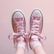 Ribbon Laces Canvas Shoes HF00522