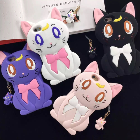 [Sailor Moon] Luna Artemis Diana Iphone Phone Case HF00448