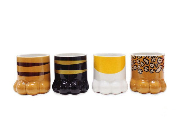Cartoon Kitty Cat Claws Ceramic Cups (various styles) HF00349