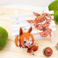 [Love Live] Pokemon Eevee Evolutions Cartoon Keychain HF00237
