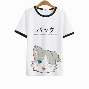 [Re: Zero] Puck Printed T-shirts (various colors) HF00603