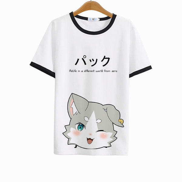 [Re: Zero] Puck Printed T-shirt (various colors) HF00603