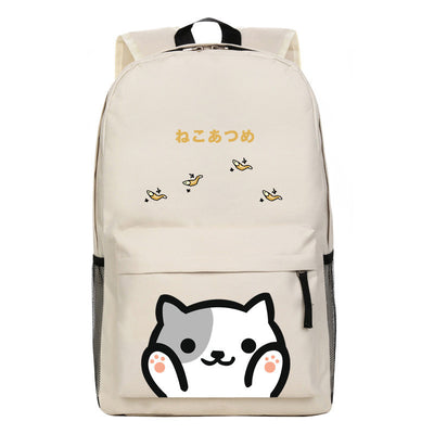[Neko Atsume] Cute Kitty Cat Cartoon Backpack Bag Ver. 1 HF00210
