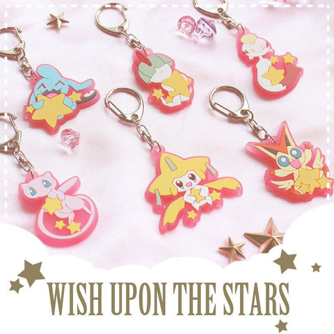 [Pokemon] Cute Rubber Keychains (various characters) HF00382
