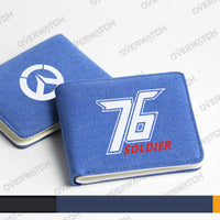 [Overwatch] D.VA and Soldier: 76 Wallet HF00766
