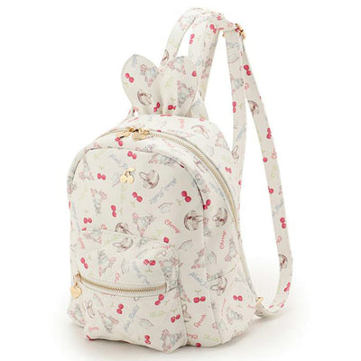 Cute Bunny Ears Backpack (white and pink) HF00416