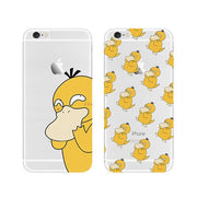 [Pokemon] Psyduck Pattern iPhone Phone Case HF00383