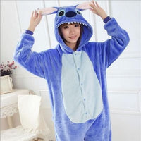 [Lilo & Stitch] Cute Cartoon Cosplay Onesie (blue) HF00319