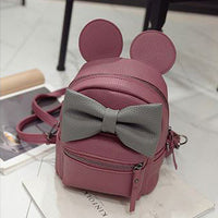 Micky Mouse Ears Big Bow Backpack Bags (various colors) HF00930