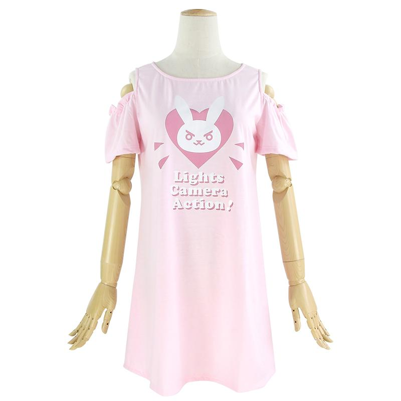[Overwatch] D.VA DVA Heart Soft Dress HF00191