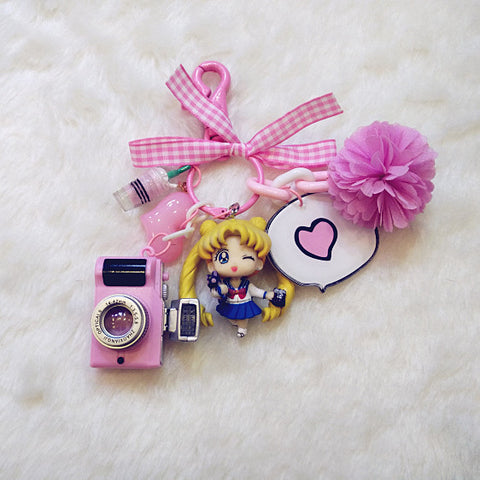 [Sailor Moon] Cute Sailor Moon Keychains (various characters) HF00260