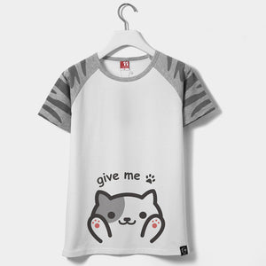 [Neko Atsume] Give Me Paw Short-sleeved T-shirt HF00359
