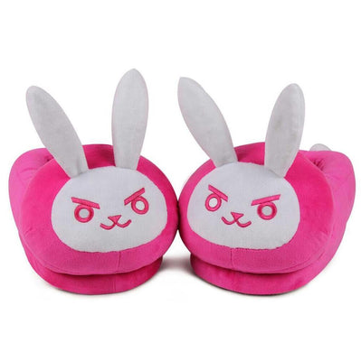 [Overwatch] D.VA DVA Bunny Cotton Slippers (closed) HF00390