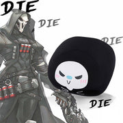 "[Overwatch] Reaper ""Die"" Silk Pillow HF00958"