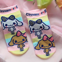 Cute Cinnamoroll Low Socks (various styles) HF00908