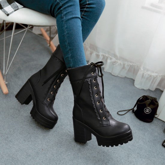 Japanese Sweet Lolita Martin Boots (various colors) HF00895