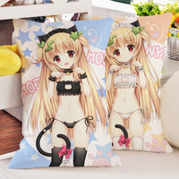 Cute Lolita Anime Maid Pillow HF00124