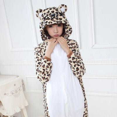Cute Cartoon Leopard Bear Onesie HF00294